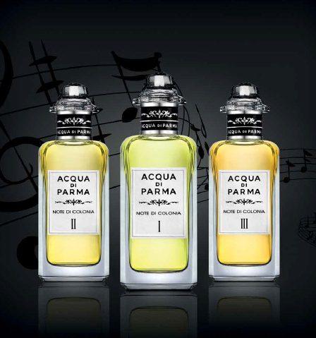 Newest Perfume for Men - Acqua di parma note