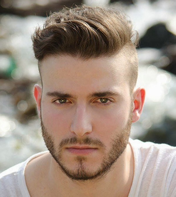 Mens Hairstyles Round Face Long Hair More Picture